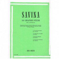 Savina. 10 Grandes Estudios...