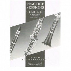 Wastall. Practice Sessions Clarinet (Clarinete y Piano)