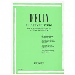D'Elia. 12 Grandes Estudios...
