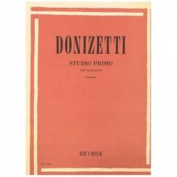 Donizetti. Primer Estudio...