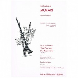 Dangain, Guy Inciacion a Mozart Vol.3 (Clarinete)