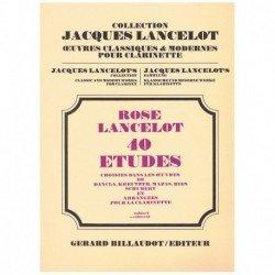 Rose/Lancelot. 40 Estudios...