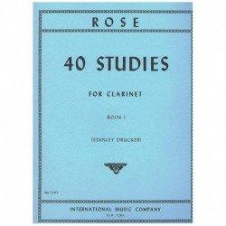 Rose. 40 Estudios para...