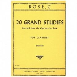 Rose, C. 20 Grandes...