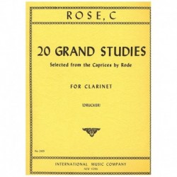 Rose. 20 Grandes Estudios...