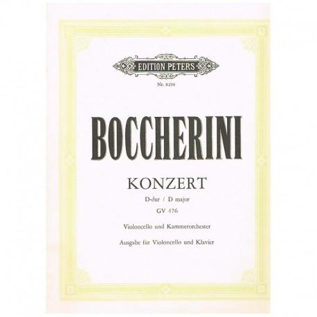 Boccherini. Concierto Re Mayor GV476 (Cello y Piano)