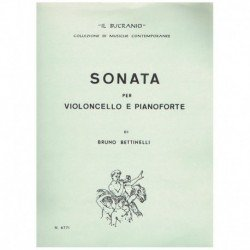 Bettinelli, Sonata (Cello y...
