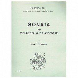 Bettinelli. Sonata (Cello y...