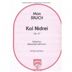 Bruch. Kol Nidrei Op.47 (Cello y Piano)
