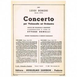 Borghi. Concierto (Cello y Piano)