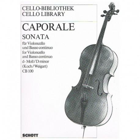 Caporale. Sonata Re menor CB100 (Cello y Piano)