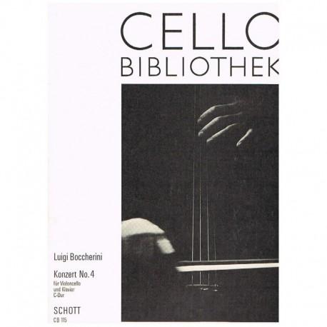 Boccherini. Concierto Nº4 Do Mayor (Cello y Piano)