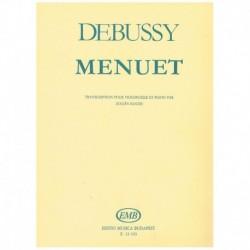 Debussy. Minueto (Cello y Piano)