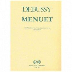 Debussy. Minueto (Cello y...