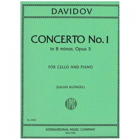 Davidov. Concierto Nº1 Sib menor Op.5 (Cello y Piano)