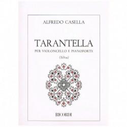 Casella. Tarantella (Cello...