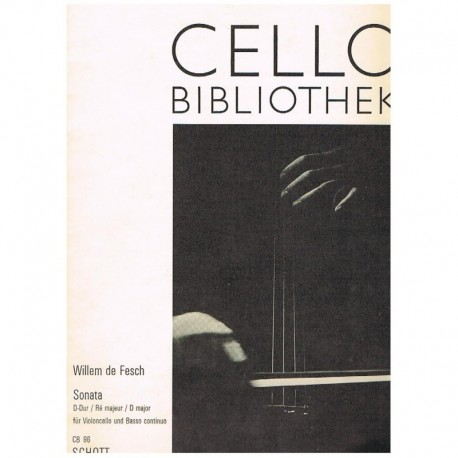 Fesch. Sonata Re Mayor (Cello y Piano)