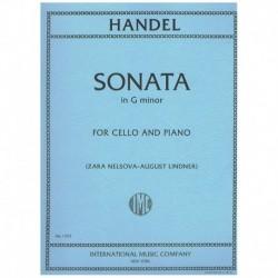 Haendel. Sonata Sol menor (Cello y Piano)