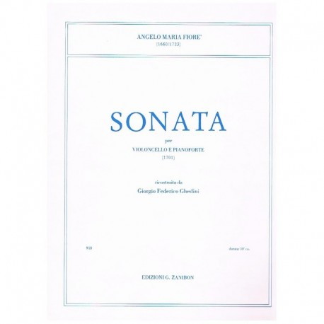 Fioré, Angel Sonata (1701) (Cello y Piano)
