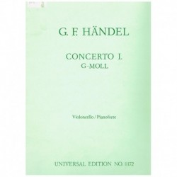 Haendel. Concierto Sol menor (Cello y Piano)