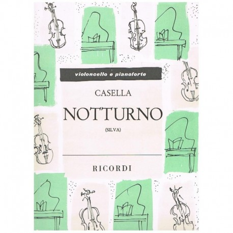 Casella, Alf Nocturno (Cello y Piano)