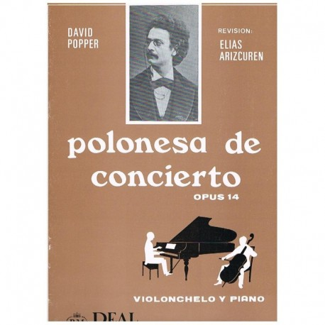Popper, Davi Polonesa de Concierto Op.14 (Cello y Piano)
