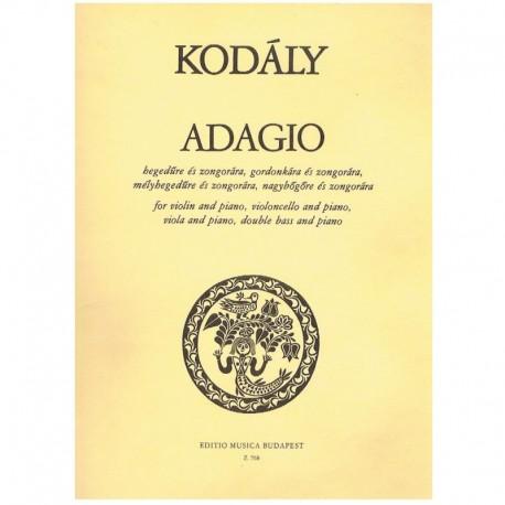 Kodaly, Zolt Adagio (Cello y Piano)