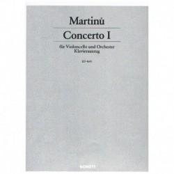Martinu. Concierto Nº1 (Cello y Piano)