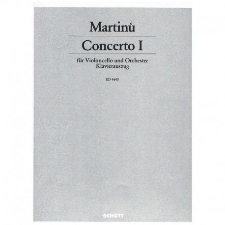 Martinu, Boh Concierto Nº1 (Cello y Piano)