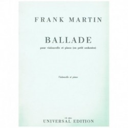 Martin, Fran Balada (Cello...