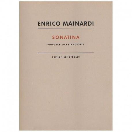 Mainardi, En Sonatina (Cello y Piano)