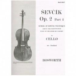 Escuela de la Tecnica del Arco Op.2 Parte 4 (Cello)