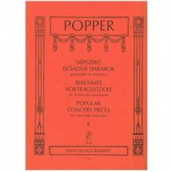 Popper, Davi Piezas Populares de Concierto Vol.2 (Cello y Piano)