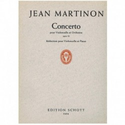 Martinon. Concierto Op.52 (Cello y Piano)