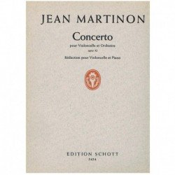 Martinon, Je Concierto Op.52 (Cello y Piano)