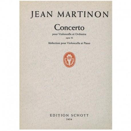 Martinon, Je Concierto Op.52 (Cello y Piano)