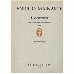 Mainardi, En Concierto (1960) (Cello y Piano)