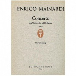 Mainardi. Concierto (1960) (Cello y Piano)