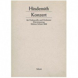 Hindemith, P Concierto (Cello y Piano)