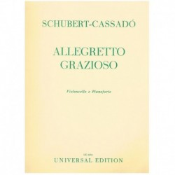 Schubert/Cassado. Allegretto Grazioso (Cello y Piano)