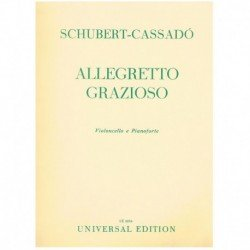 Schubert/Cas Allegretto Grazioso (Cello y Piano)