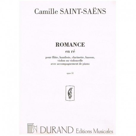 Saint-Saens, Romance Re Mayor Op.51 (Cello y Piano)