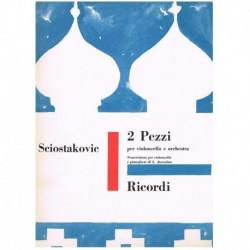 Shostakovich. 2 Piezas (Cello y Piano)