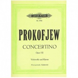 Prokofiev. Concertino Op.132 (Cello y Piano)