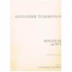 Tcherepnin. Sonata III Op.30/2 (Cello y Piano)