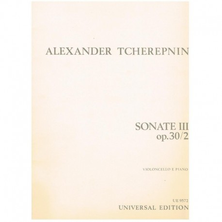 Sonata III Op.30/2 (Cello y Piano)
