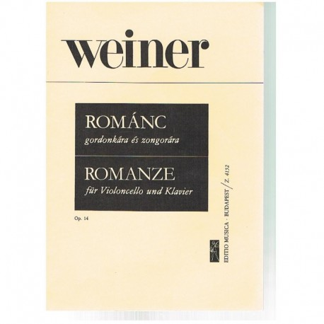 Weiner Romance Op.14 (Cello y Piano)