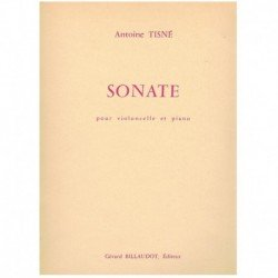 Tisne. Sonata (Cello y Piano)