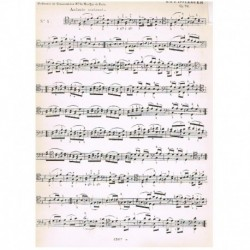 Dotzauer. 12 Estudios Op.70 (Cello)