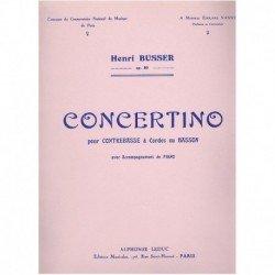 Busser. Concertino Op.80...